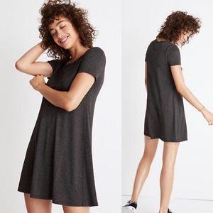 Madewell Swingy Short Sleeve Tee Dress